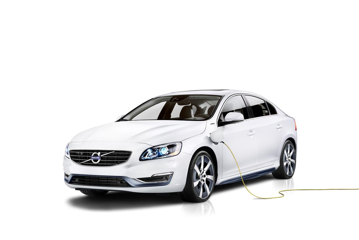 Volvo will debut the S60L PPHEV concept at the 2014 Beijing Auto Show