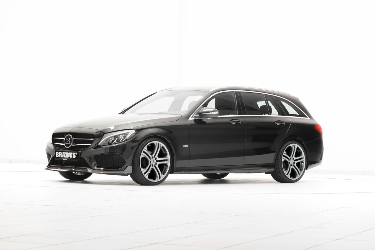 The BRABUS take on the Mercedes C Class wagon