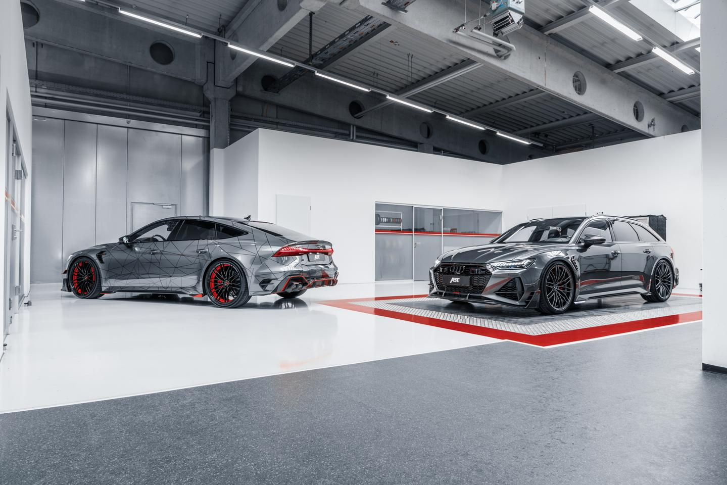The Audi ABT RS7-R and RS6-R both offer 740 hp (544 kW) and 920 Nm performance and a four-year, 100,000-mile warranty