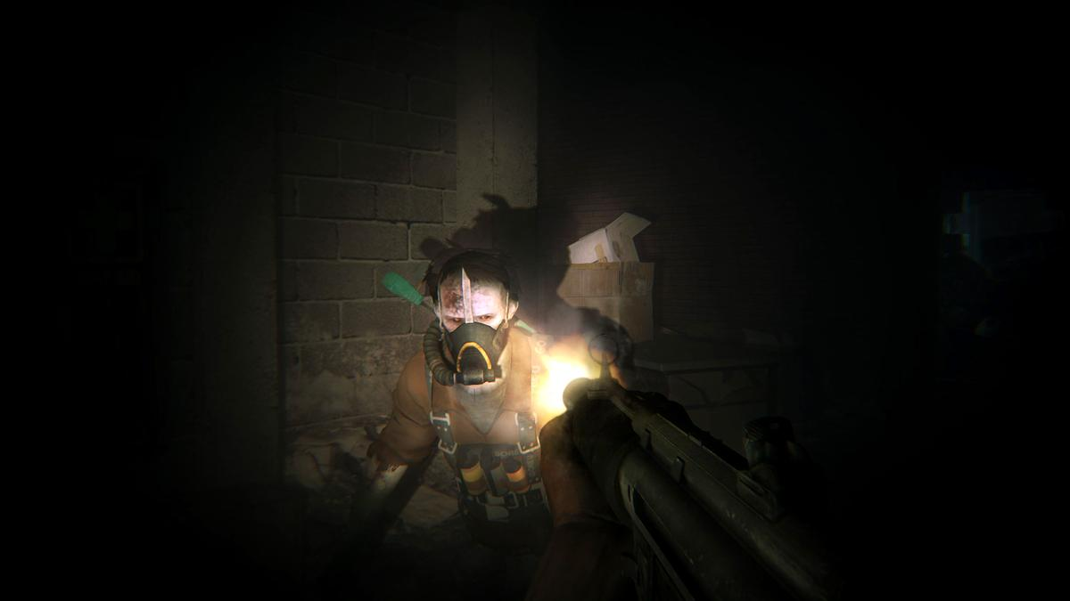 Darkness is NOT your friend in ZombiU