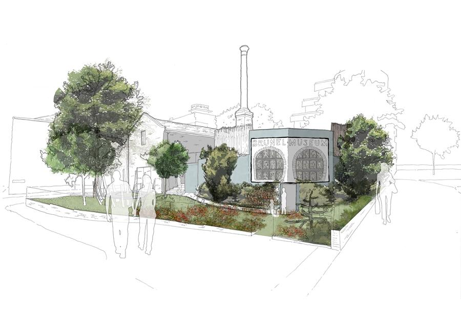 A rendering of the planned external view by project architects Tate Harmer (Image: Tate Harmer)
