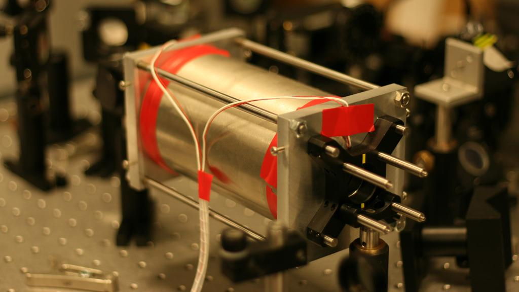 A prototype of the portable magnetometer being developed at the University of Leeds