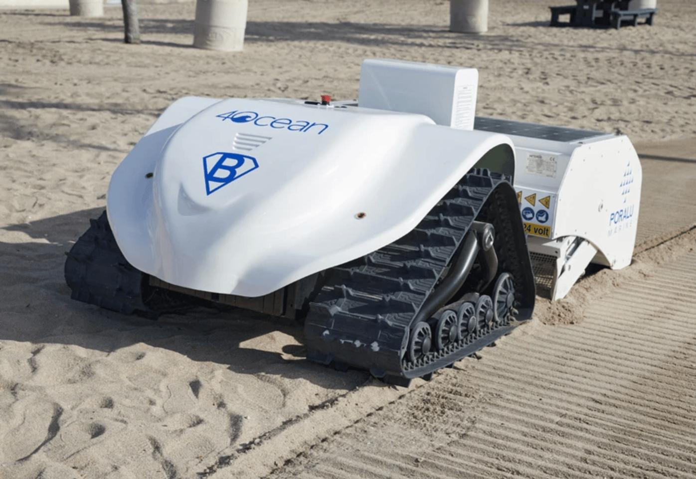 The BeBot was built by marine infrastructure manufacturer Poralu Marine