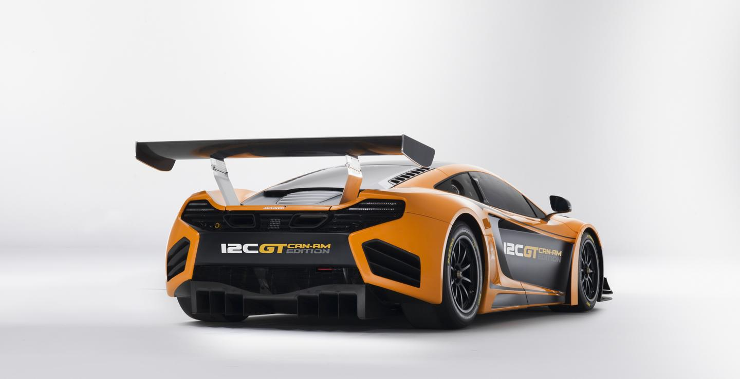 The McLaren 12C GT Can-Am Edition