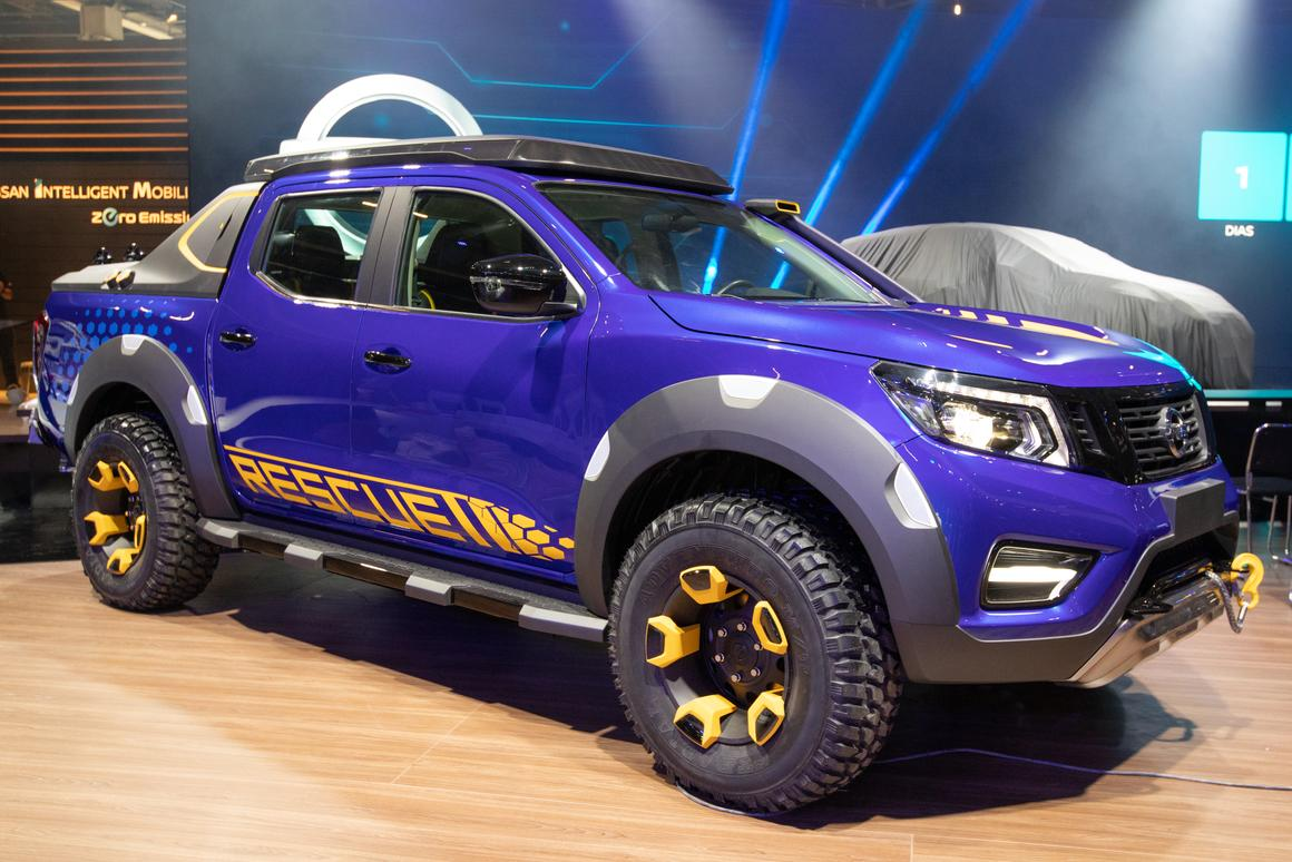 Nissan debuts the Frontier Sentinel concept at the 2018São Paulo Motor Show
