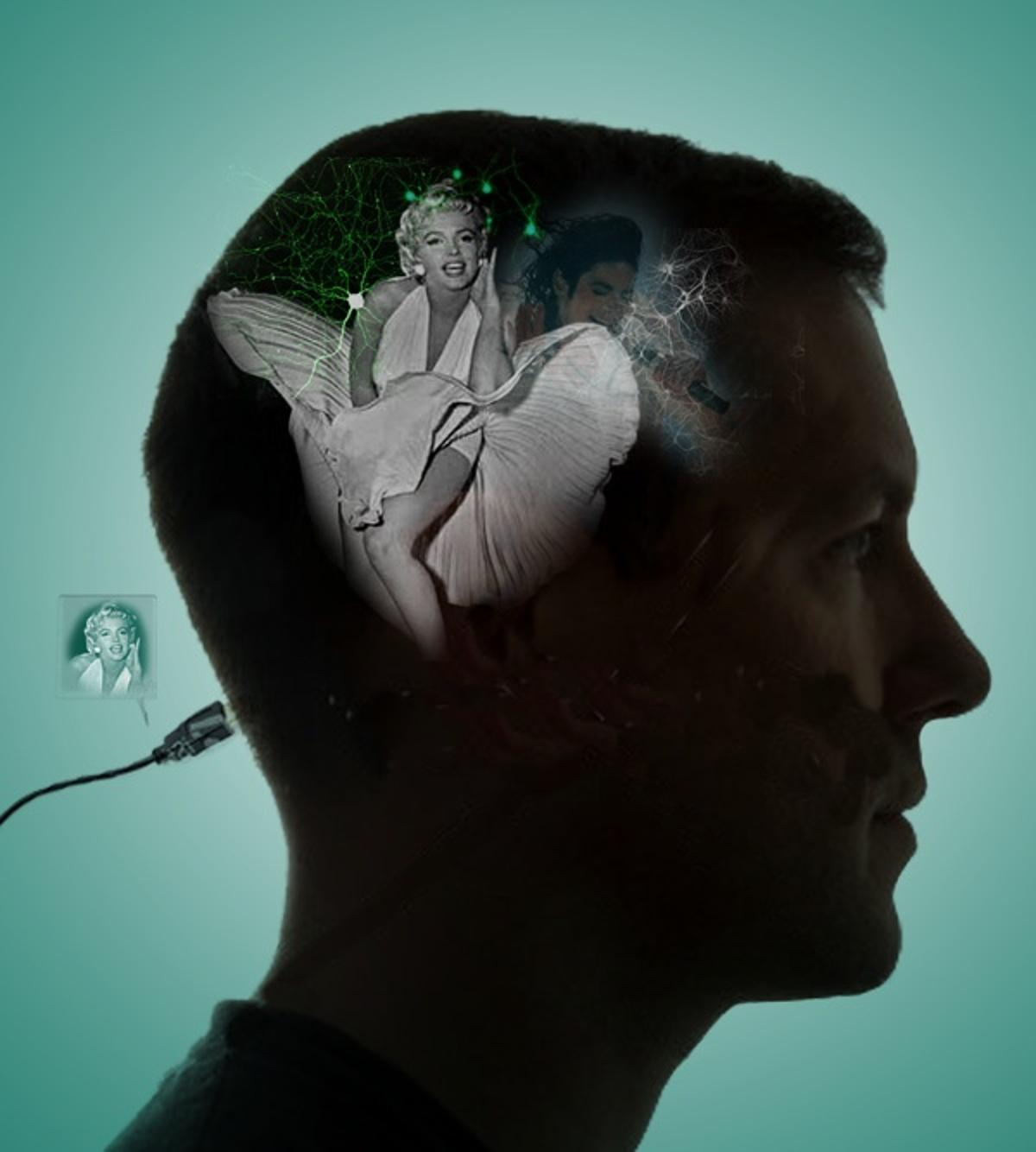 A dozen subjects with their brains wired up to a computer interface have succeeded in manipulating onscreen images using only the power of thought