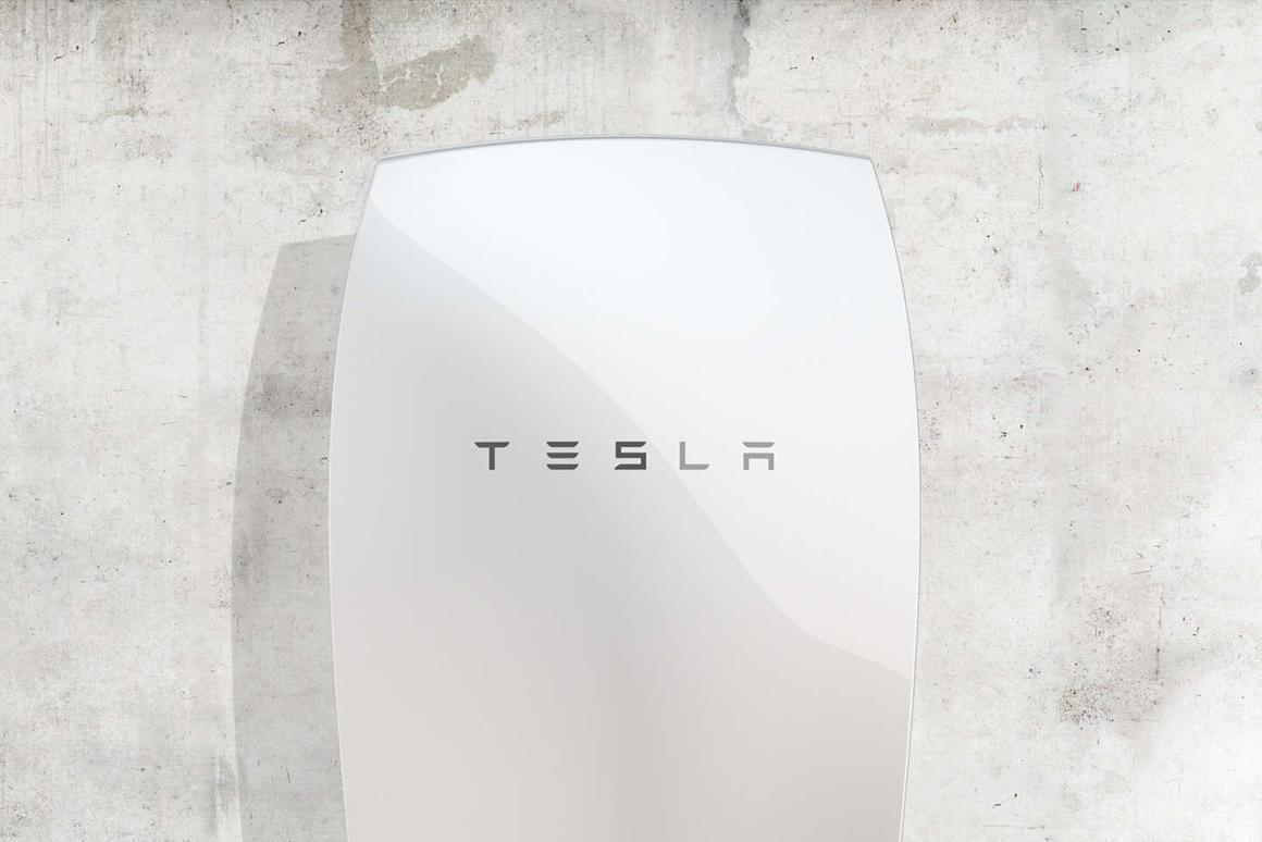 Tesla's Powerwall battery energy storage system for the home