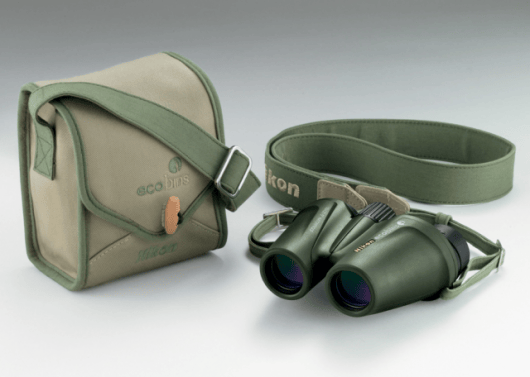 Nikon introduce eco-friendly ecobins binoculars