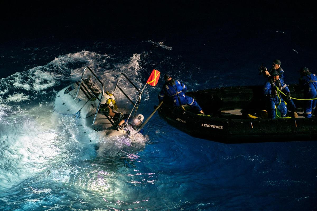 Victor Vescovo and the Limiting Factor resurface after diving deeper than anyone ever has before