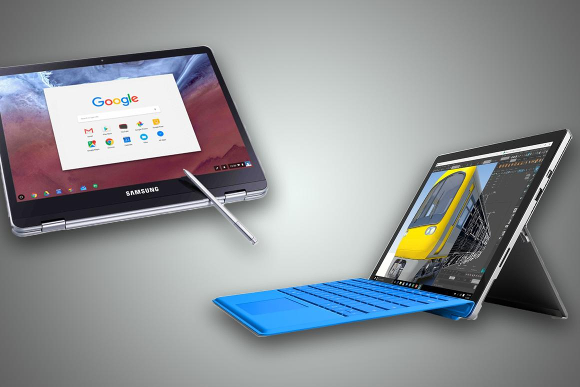 Samsung Chromebook Plus/Pro vs  Microsoft Surface Pro 4