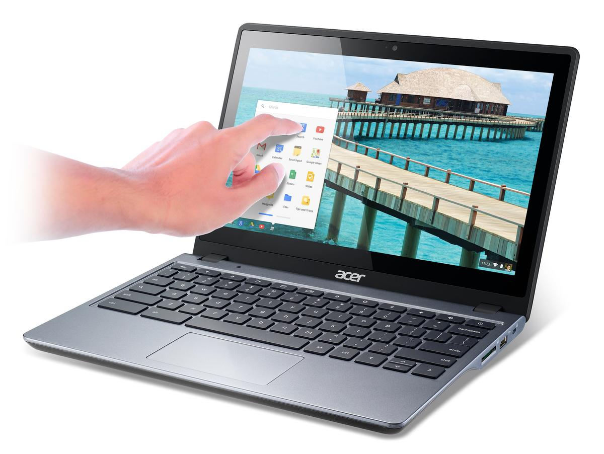 Acer has announced its first touchscreen Chromebook, the C720P