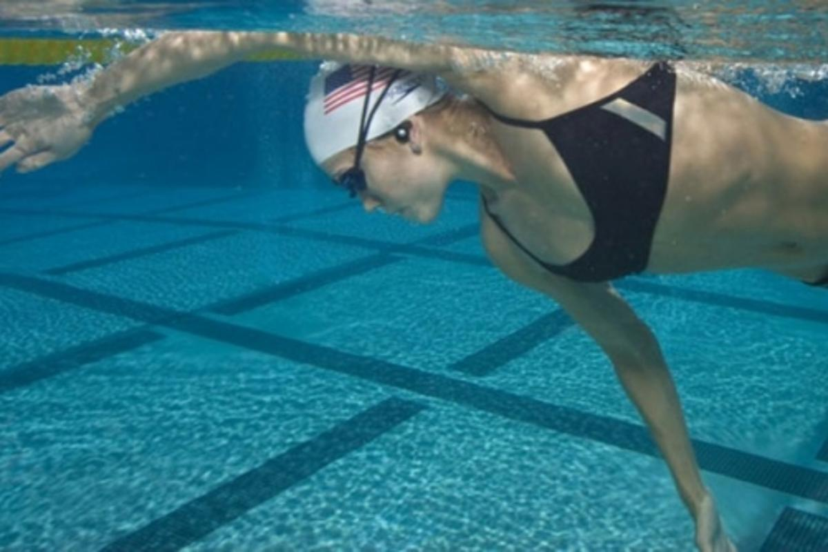 Natalie Coughlin puts the iSH2 to the test