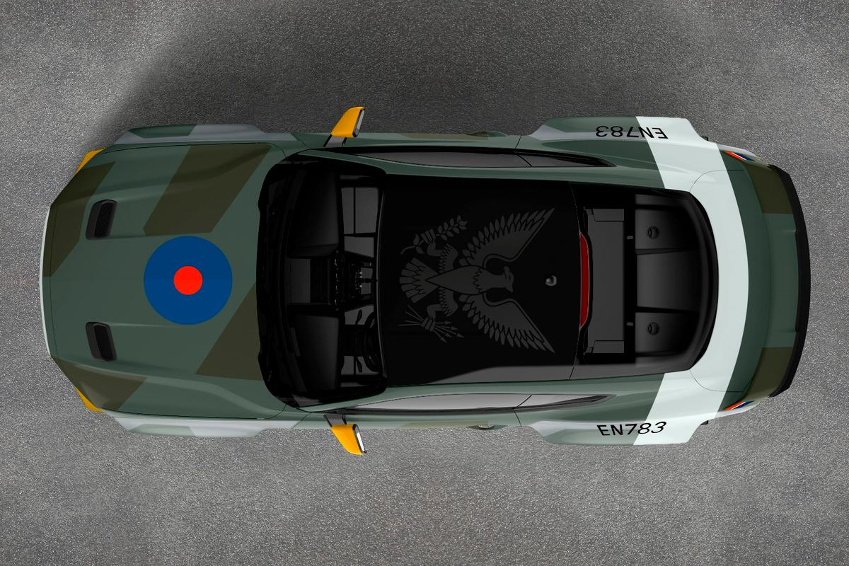 The Eagle Squadron Mustang GTwas inspired by the volunteer pilots who defended Britain during World War II