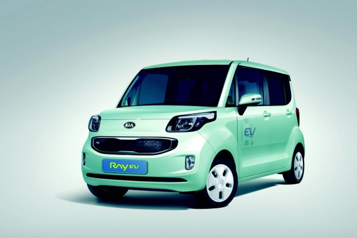 The Kia Ray EV is the first electric vehicle launched by either of Korea's big two automakers