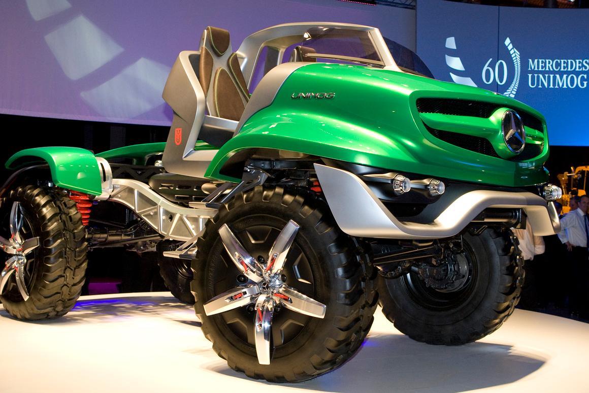 The Unimog 4WD Cabrio truck concept