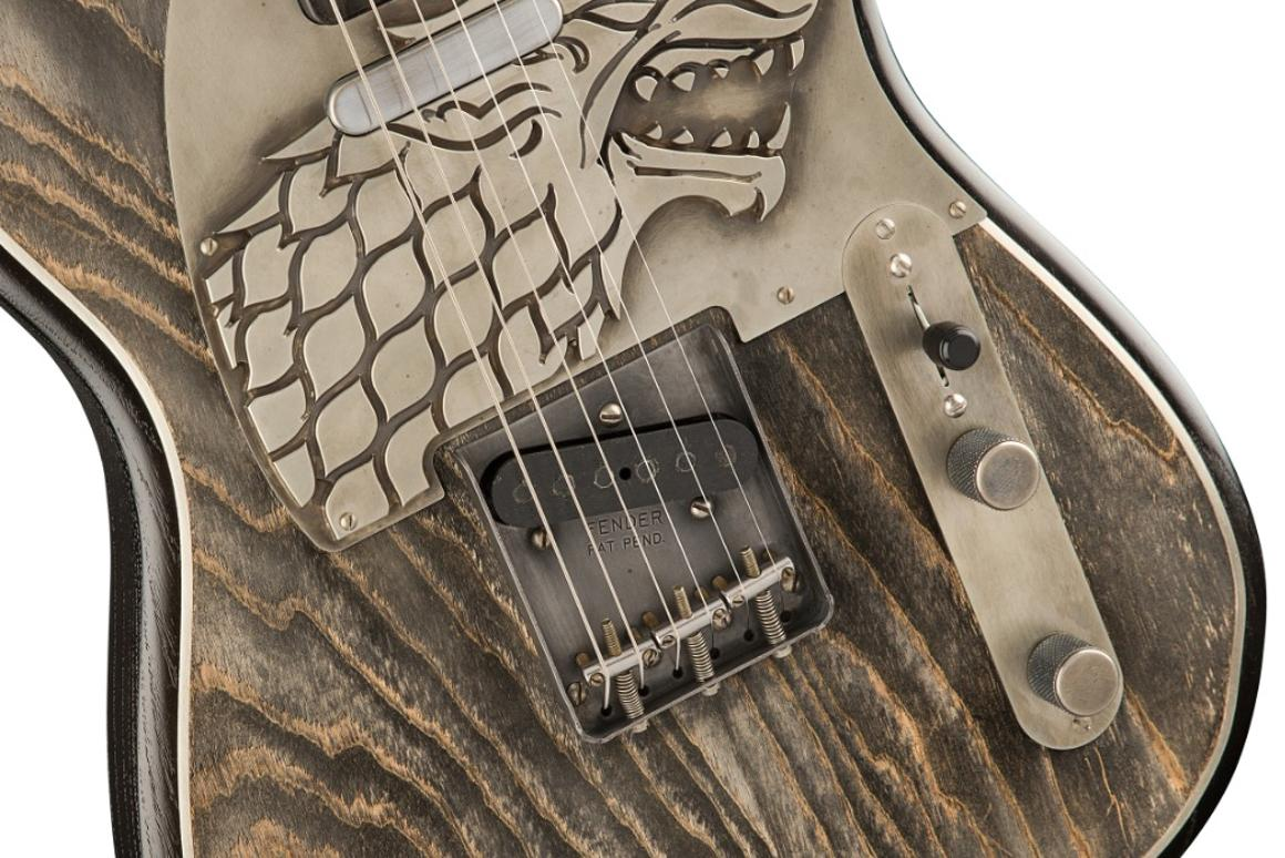 The Game of Thrones Sigil Collection guitars range in price from $25,000 to $35,000, and each model will be hand-built by Master Builder Ron Thorn