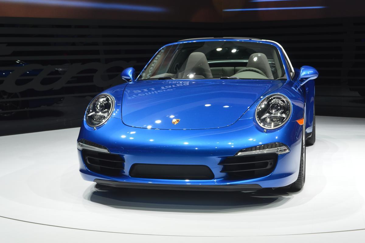 The Porsche 911 Targa is available as the Targa 4 and Targa 4s (Photo: Gizmag.com)