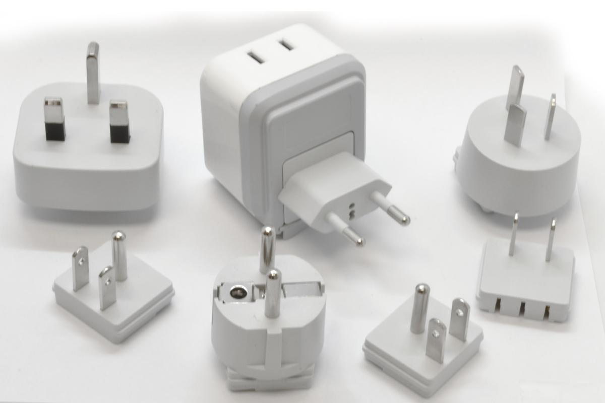 Nan-Fuze is compatible with a variety of electrical outlets, making it the ideal traveling companion