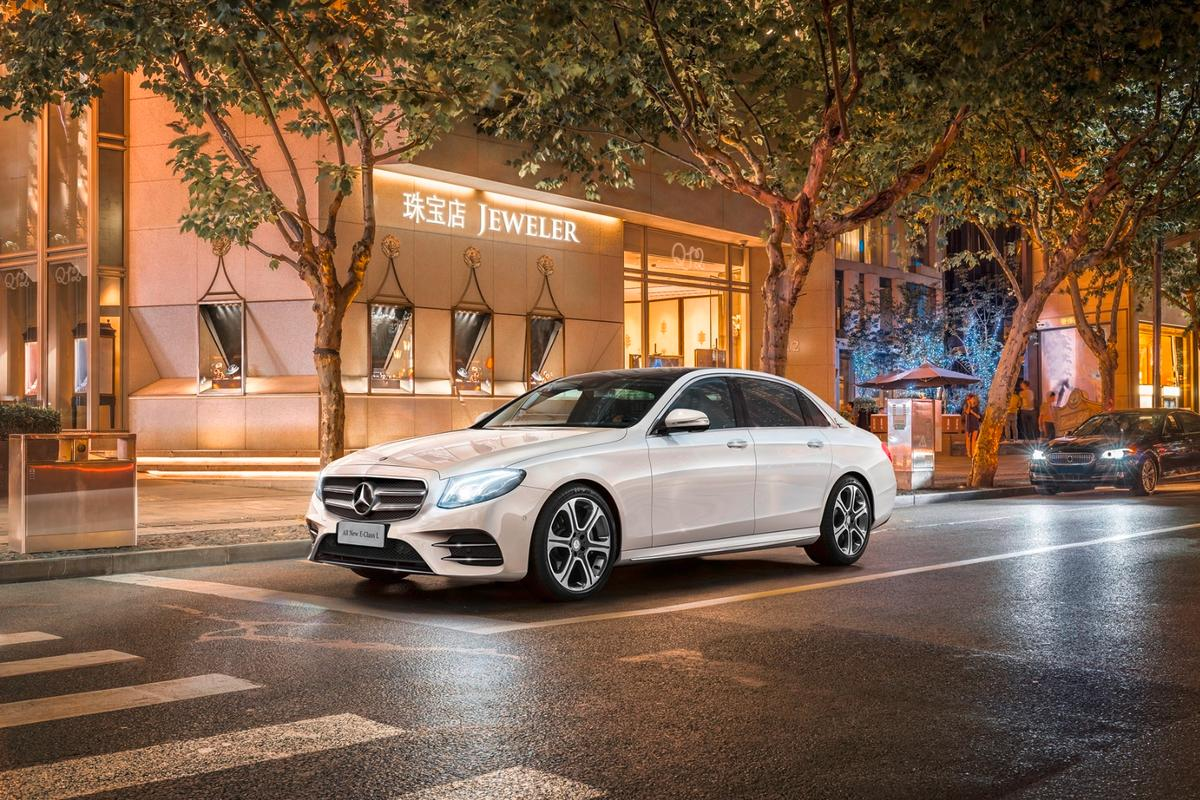 The long-wheelbase E-Class will be built in China