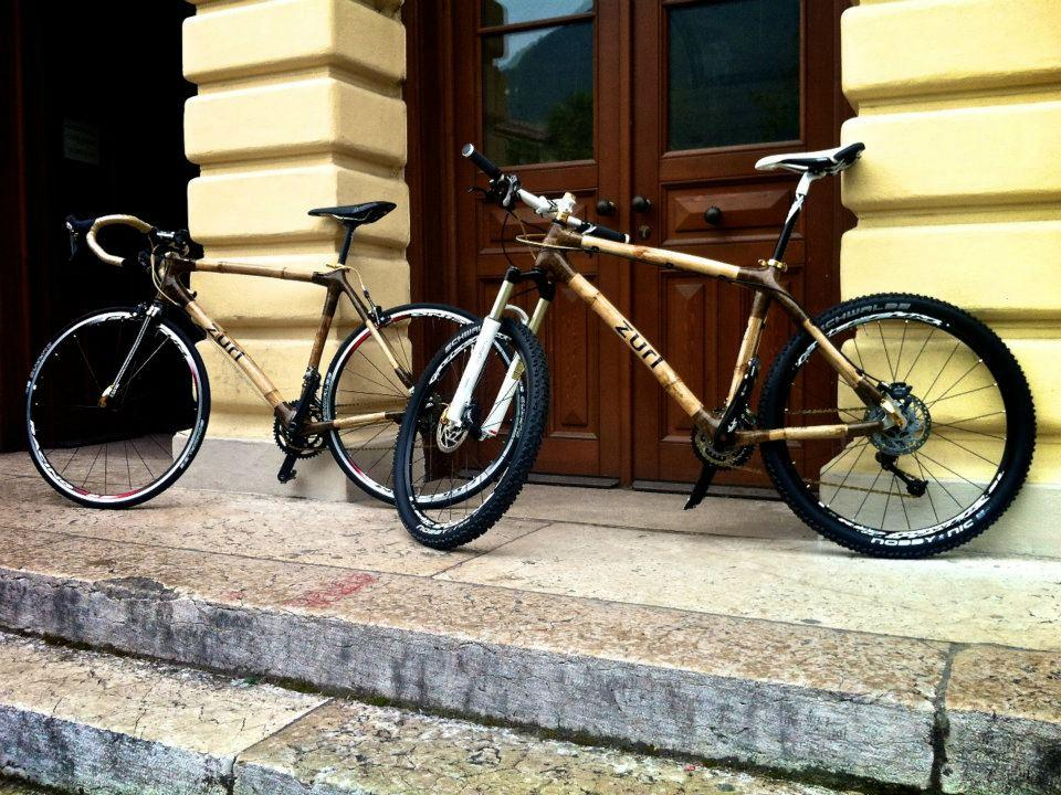 Zuri's bamboo bicycles come in several styles
