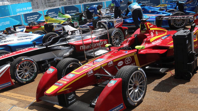 20 Formula E cars from 10 teams will race in the 2015/2016 FIA Formula E Championship (Photo: FIA)