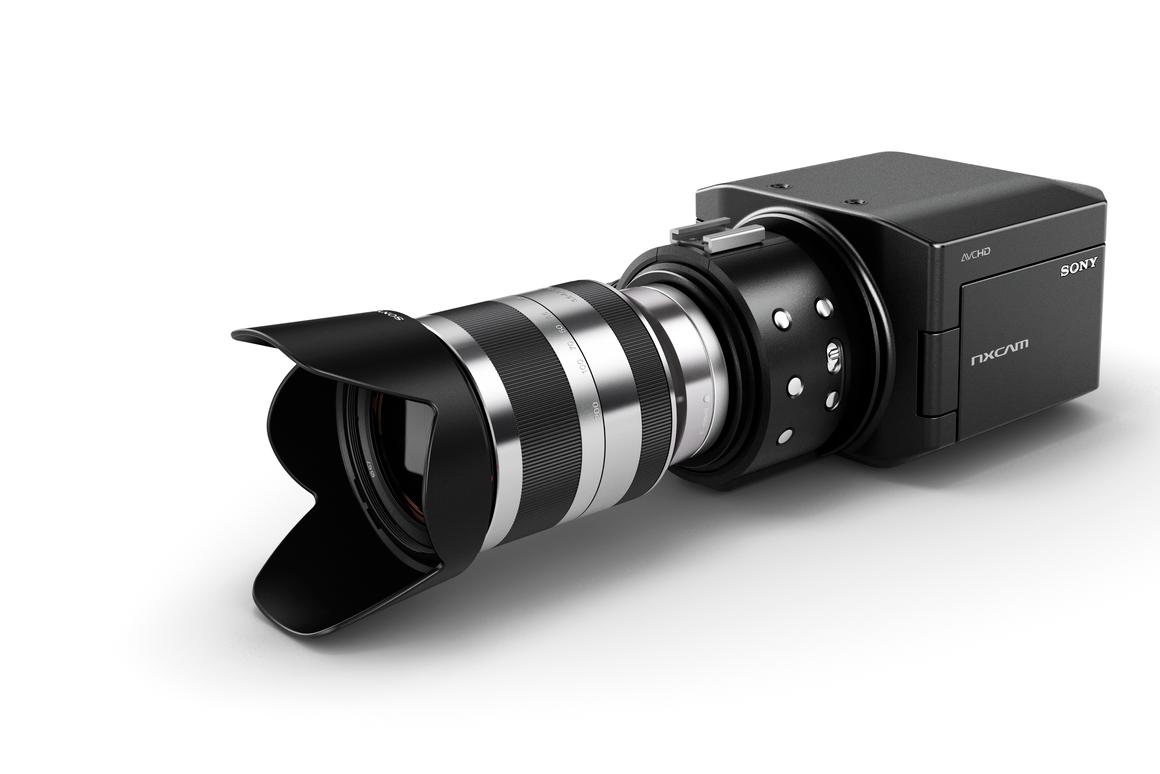 Sony is developing a new professional-level camcorder that's compatible with the E-mount interchangeable lens system used by the NEX-5 camera and NEX-VG10 handycam