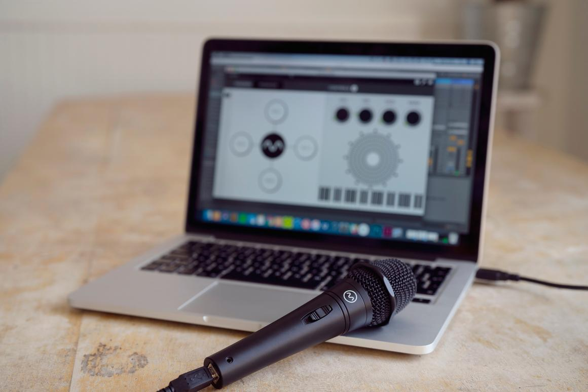 Dubler turns your voice into a virtual MIDI controller