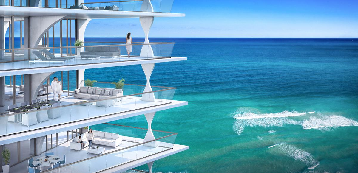 "The Jade Signature is described as ""one of Miami's finest, most prestigious beachside homes"""