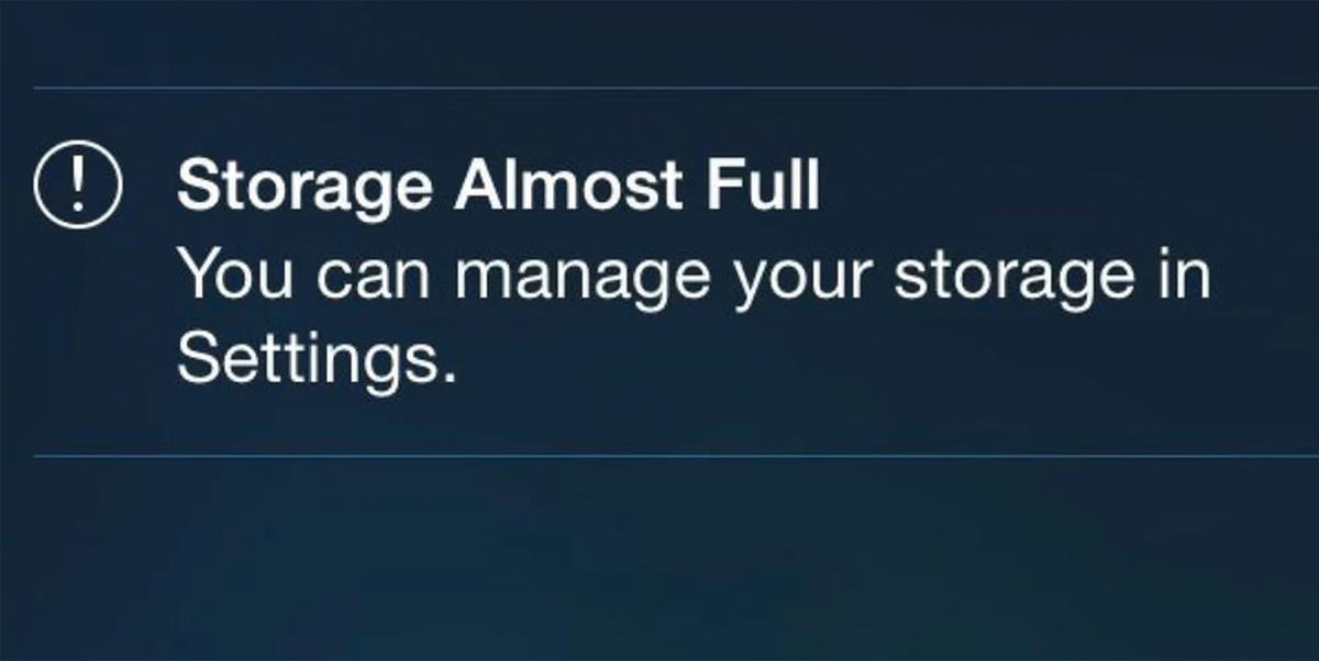 Storage headaches are common problems for Apple users