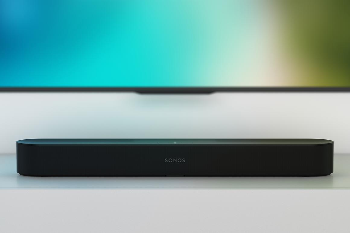 The Sonos Beam will play audio from yourTV and from your favorite music services, and answer your questions via Alexa too