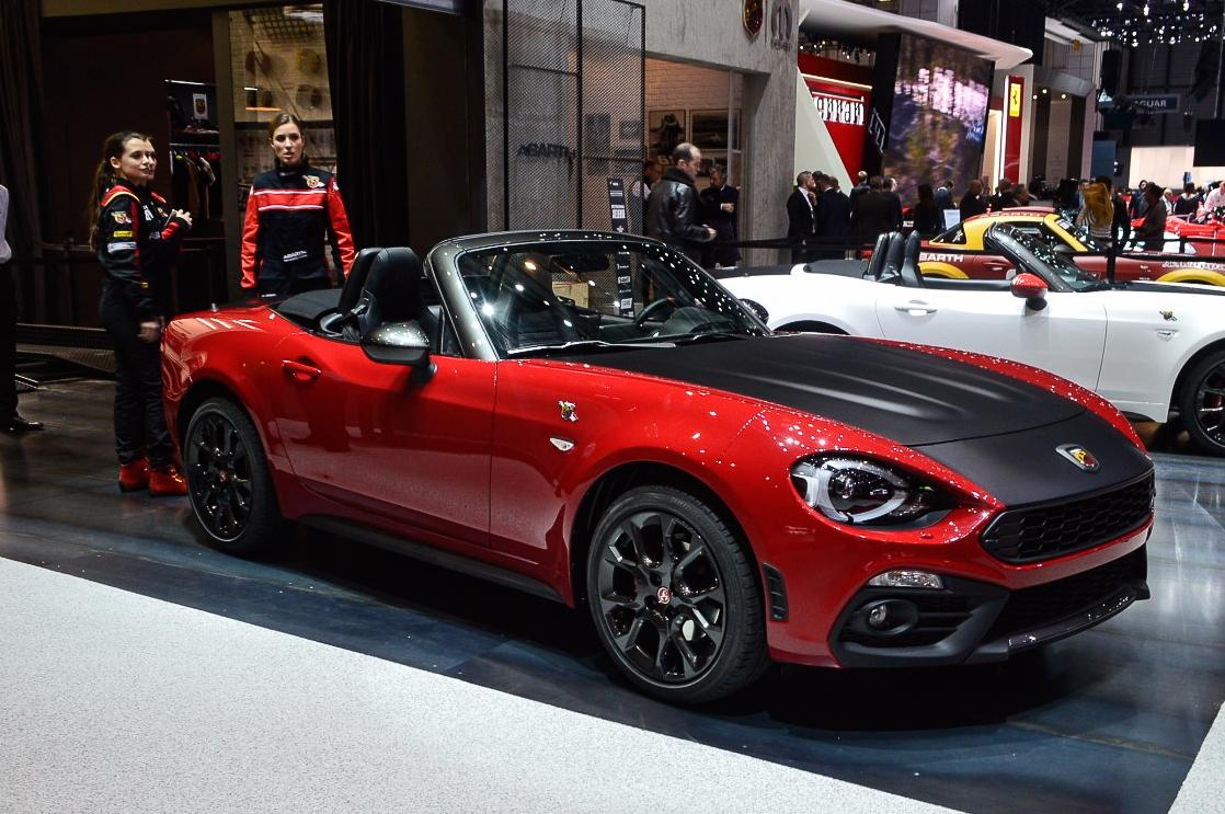 The European version of the Fiat 124 Spider shares the same Mazda underpinnings encased in nostalgic Italian styling