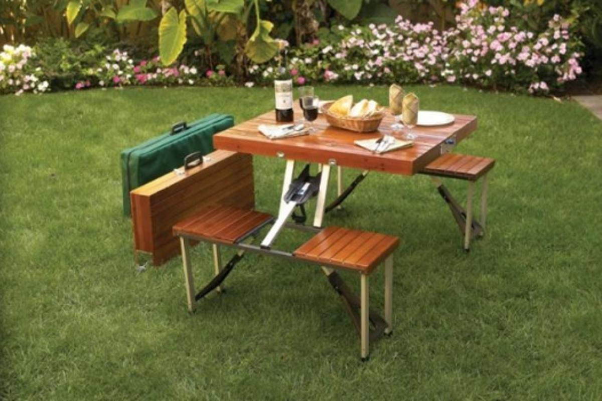 Pack and Go Picnic Table