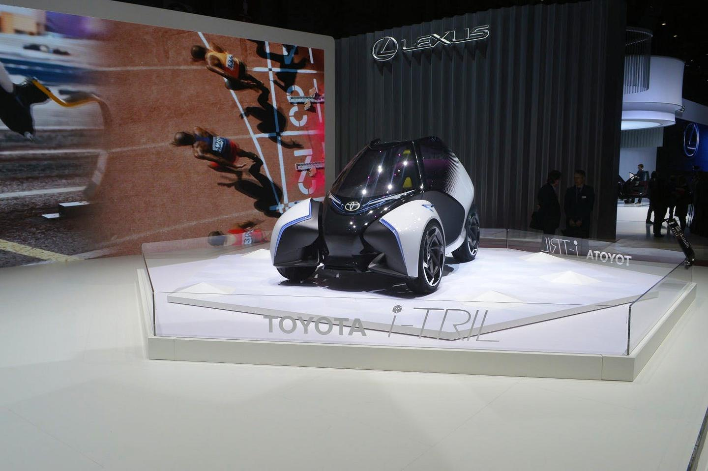 Toyota says that the i-Tril features autonomous driving tech, but is designed to be so much fun that the humandriver will want to take control