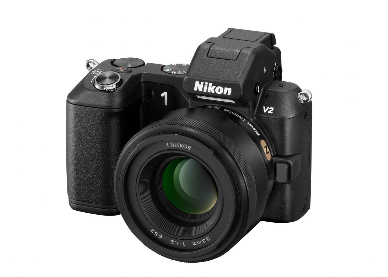 The Nikon 1 NIKKOR 32mm f/1.2 features Nano Crystal Coat, Silent Wave Motor and a manual focus ring