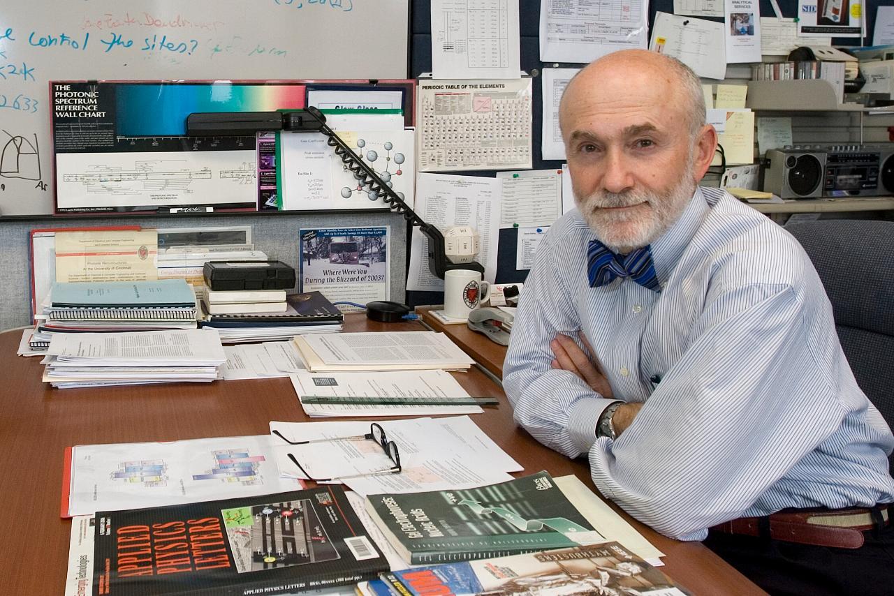Professor Andrew Steckl, from the University of Cincinnati