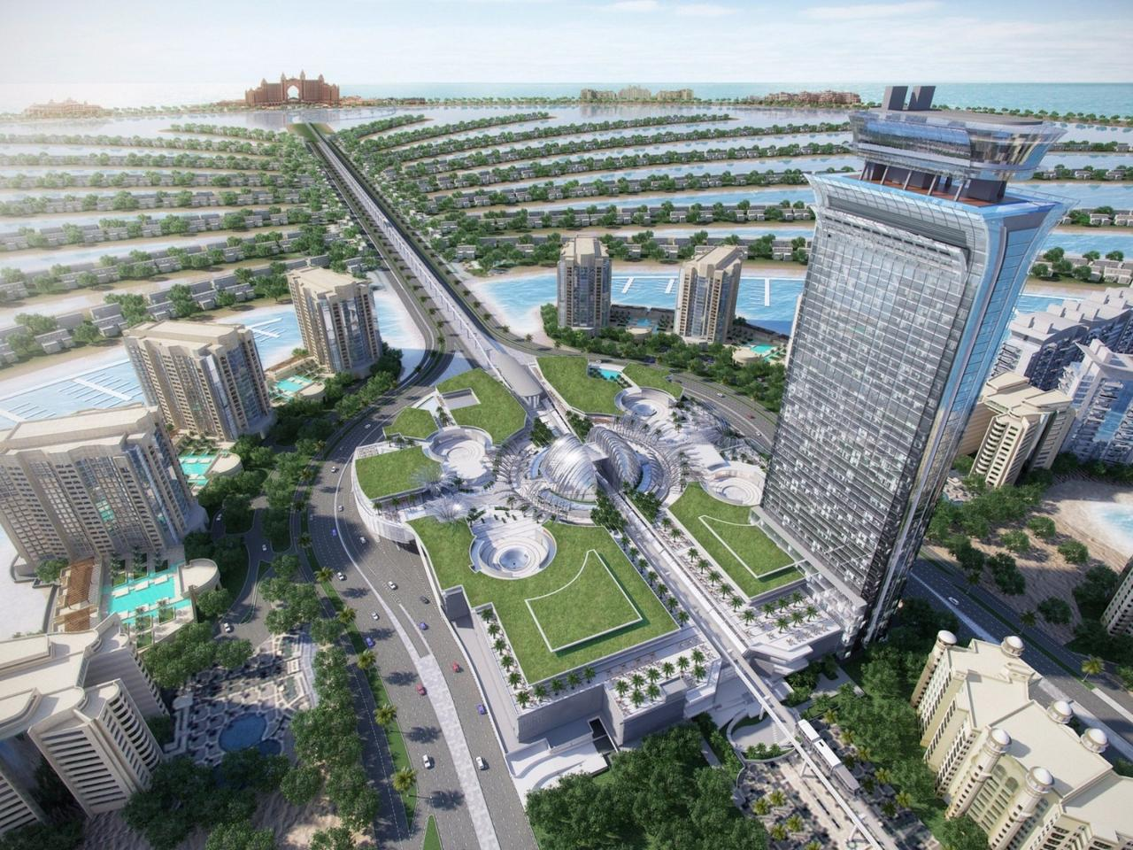 Hotel guests will have easy access to the 1,100,000-sq ft (102,193-sq m) Al Ittihad Park, in which there are over 60 types of indigenous plants