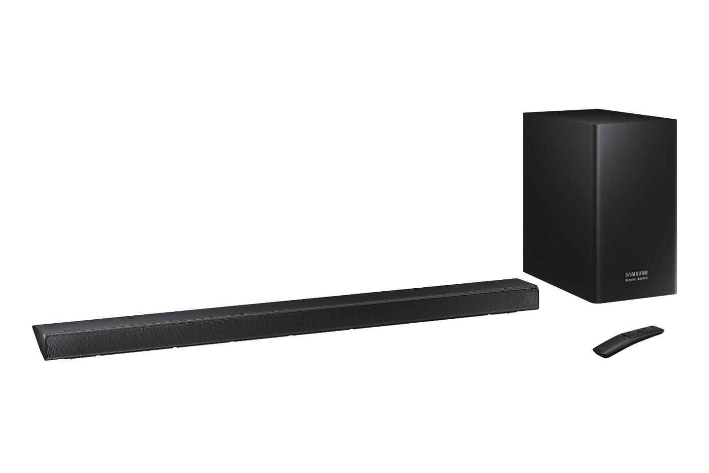 The Samsung Q Series soundbars are designed to work with the company's 2019 QLED TVs