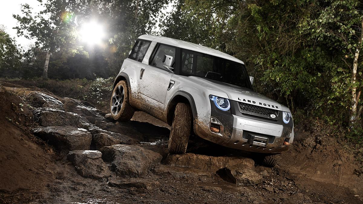 The Land Rover DC100 is a taste of things to come for the company's iconic Defender model