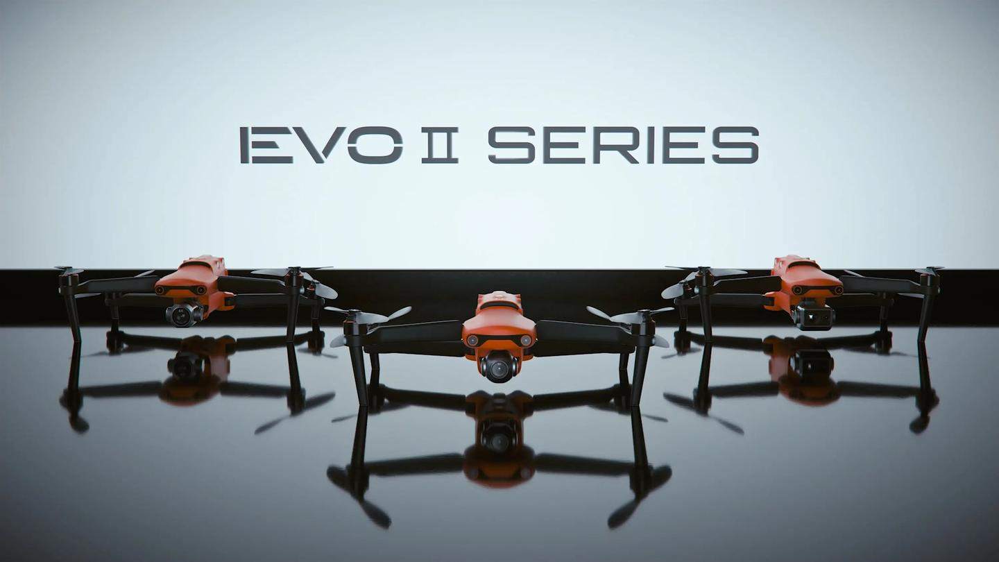 The Evo II series comes in three flavors - a standard model with an 8K camera, a Pro drone with a 6K camera and a i-inch sensor, and the Dual, with a thermal sensor and 8K camera