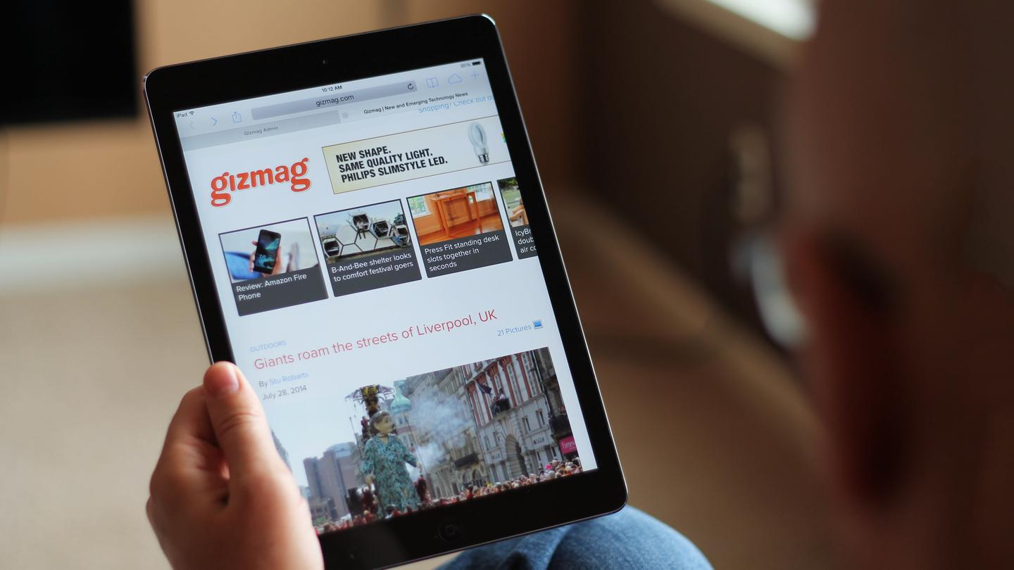 Gizmag revisits the iPad Air after nine months