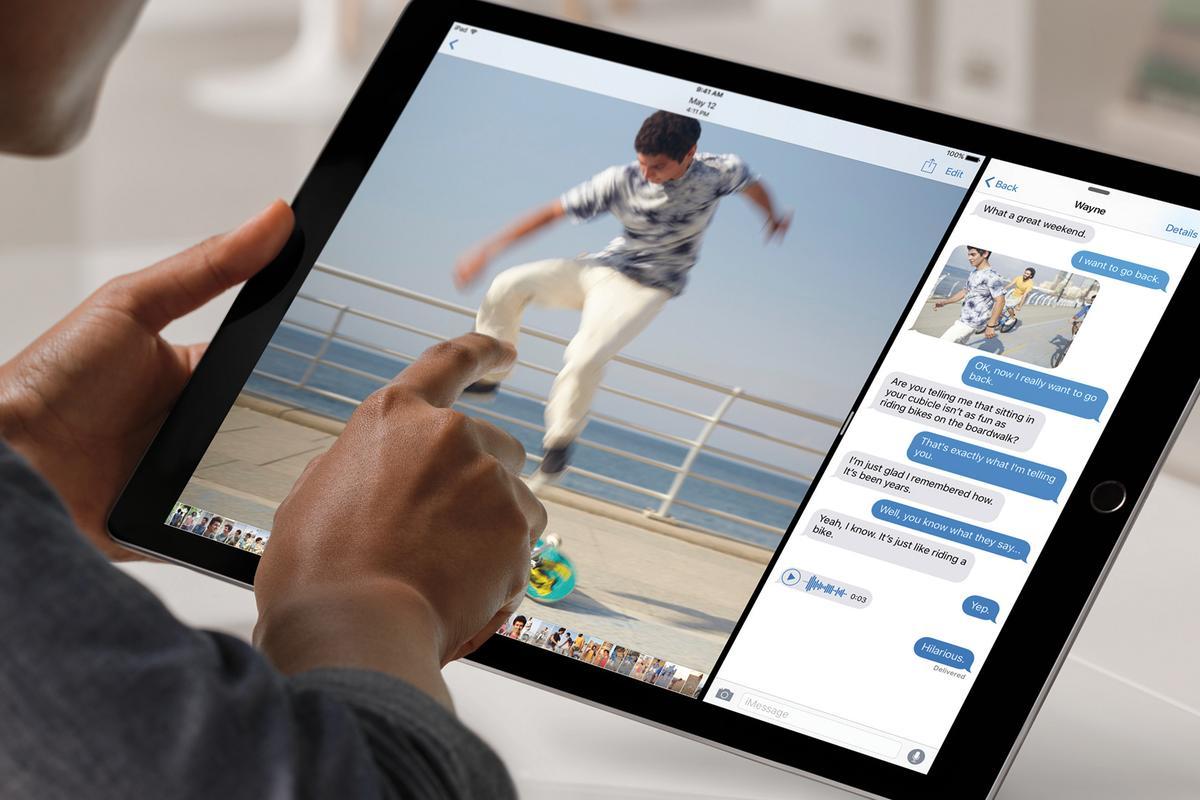 The huge iPad Pro has a 12.9-inch display