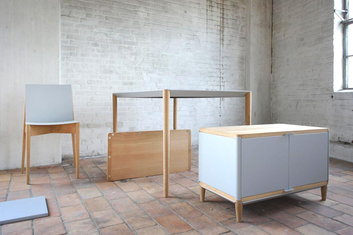 The MAG furniture line (Photo: Benjamin Vermeulen)