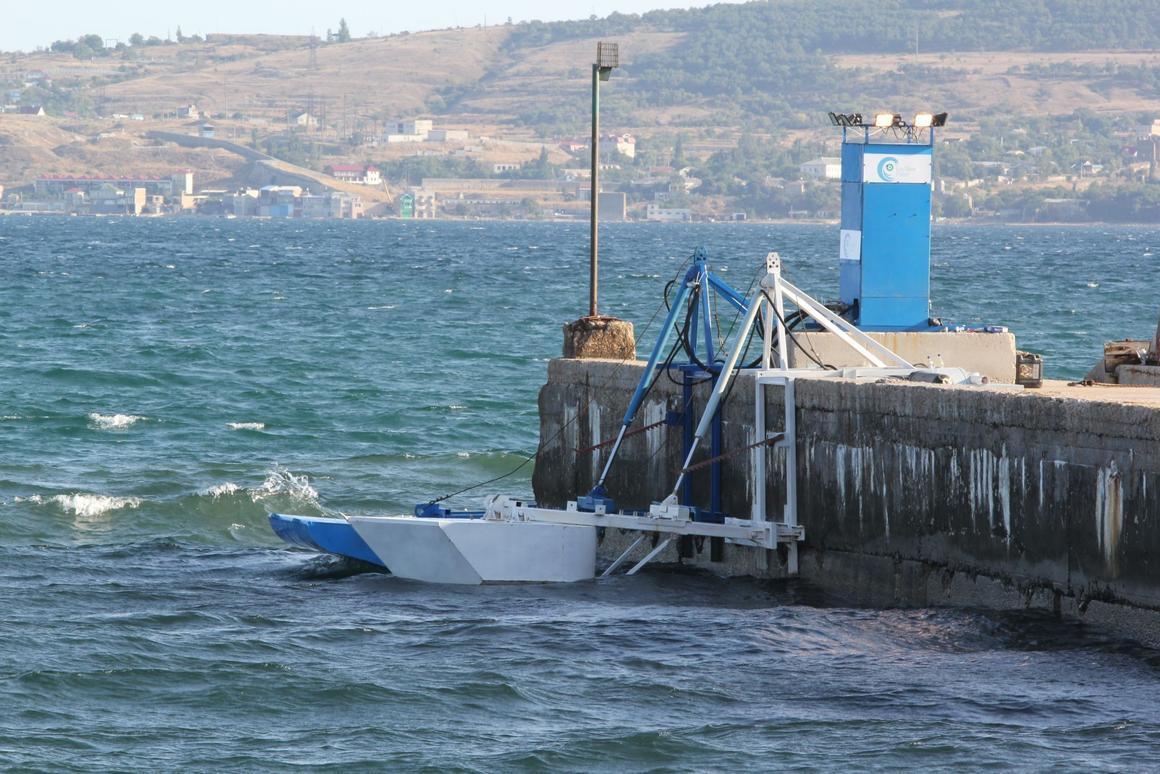 The Wind Clapper and Power Wing, converting rising and falling waves into energy