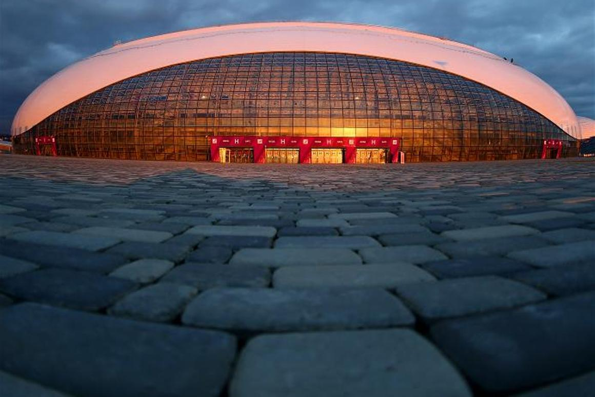 The Bolshoy Ice Dome (image: Sochi 2014 Organizing Committee)