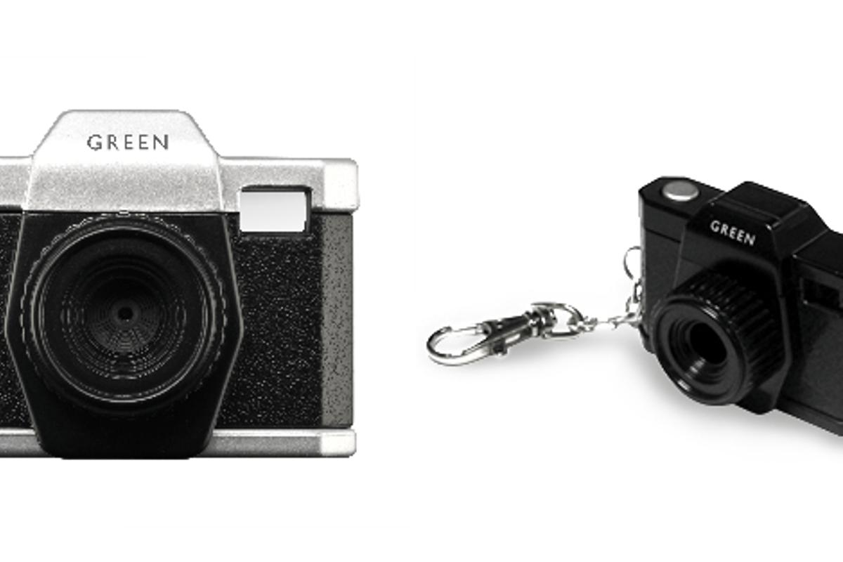 The tiny 0.3MP Mini Digi camera fits on your keyring
