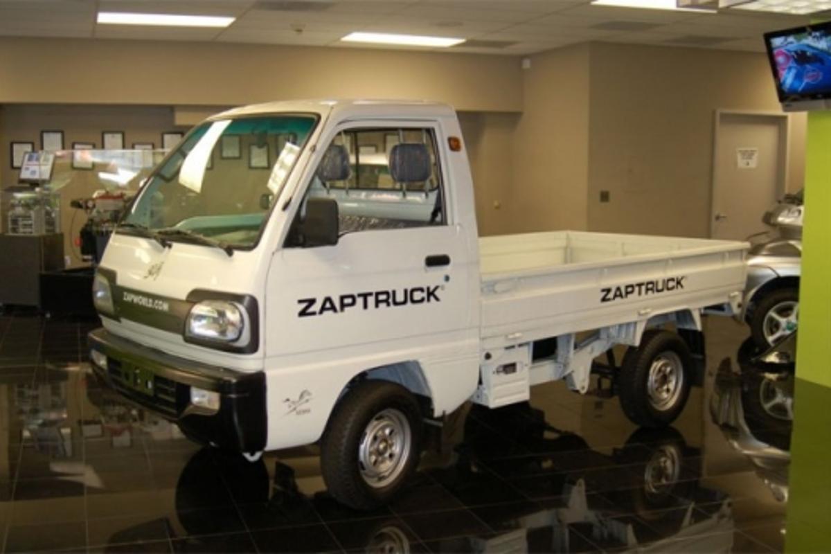 Prototype complete: ZAP XL Truck