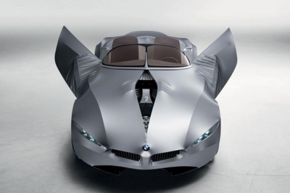 BMW's GINA concept features a flexible skin instead of body panels