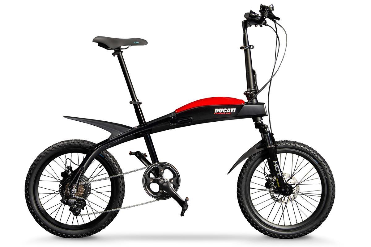 The Ducati Urban-E, created in partnership with Italdesign Giugiaro