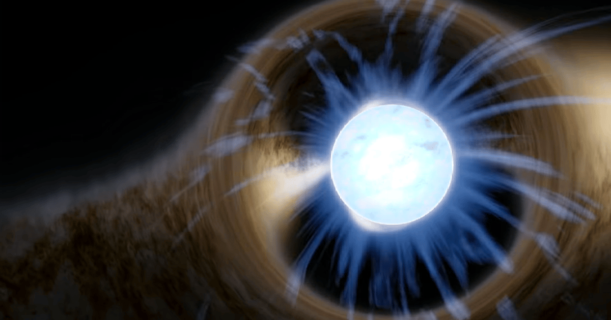 """Unexplained X-ray signals from neutron stars hint at """"ghost"""" particles"""
