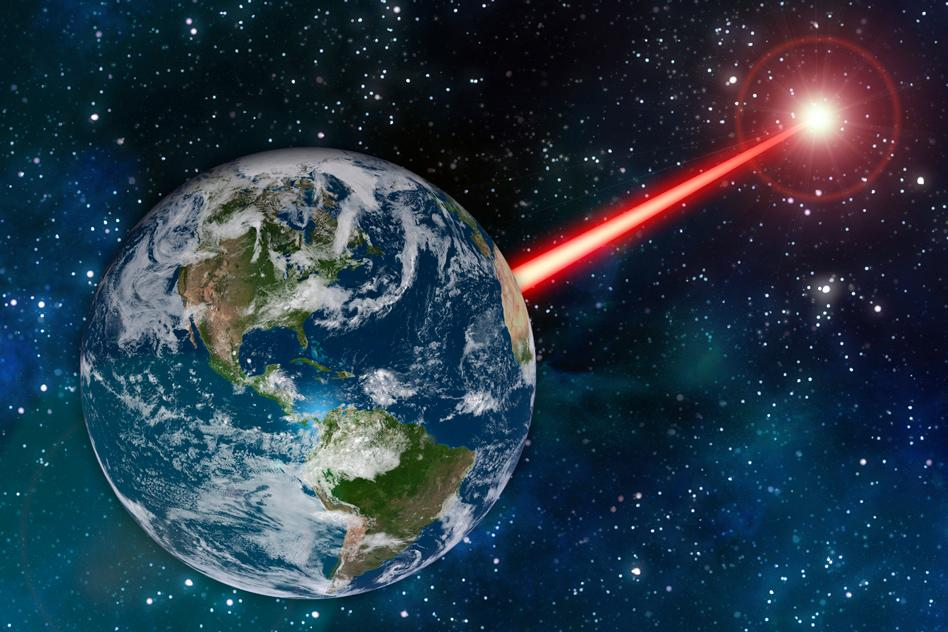 An MIT study proposes building a laser lighthouse to signal to alien astronomers up to 20,000 light-years away – but is that such a good idea?